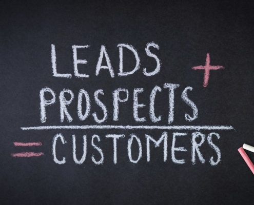 leads to prospects to customers