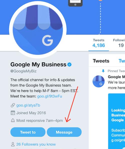 Twitter lựa chọn hỗ trợ từ Google My Business