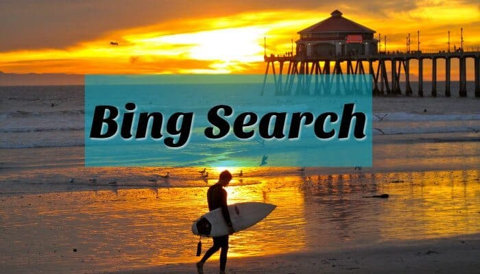 bing search for looking for pictures for your blog