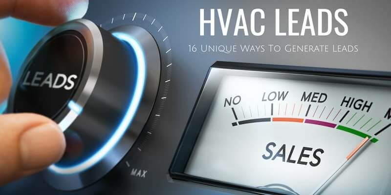 generate HVAC leads for your business